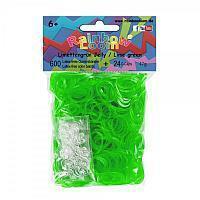 RAINBOW LOOM 20839 Original gumičky 600 kusov transparentné limetkovo zelené 05042