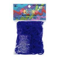 RAINBOW LOOM 20884 Original gumičky 600 kusov transparentná tmavá modrá 05028-325
