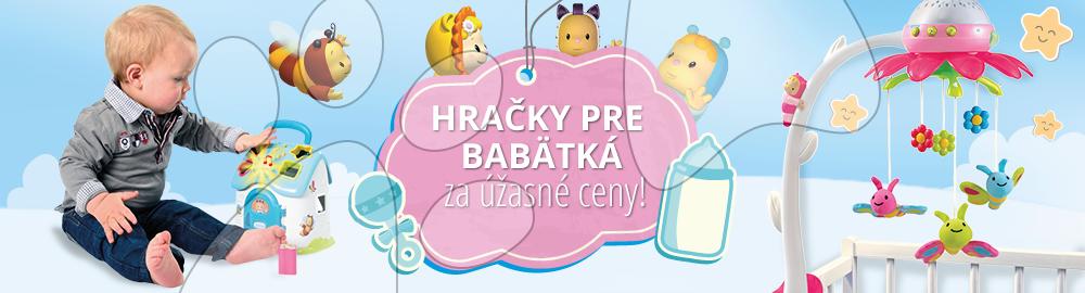 Hračky pre bábätká za úžasné ceny!