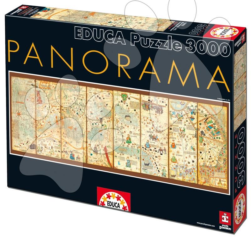Puzzle Mappa Mundi  Educa 3 000 dílů