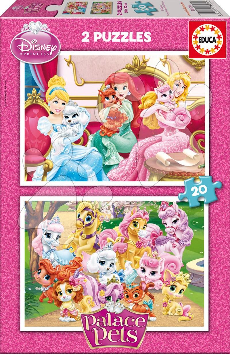 Puzzle Palace Pets Educa 2x20 dílů
