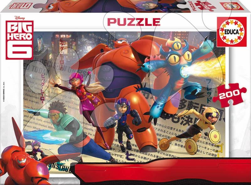 Detské puzzle od 100-300 dielov - Puzzle Veľký hrdina 6 Educa 200 dielov od 6 rokov