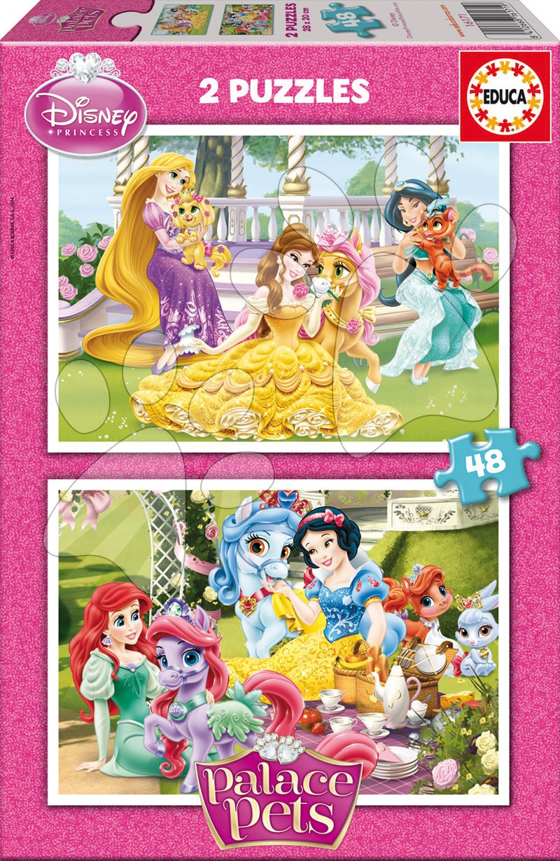 Puzzle Palace Pets Educa 2x48 dílků