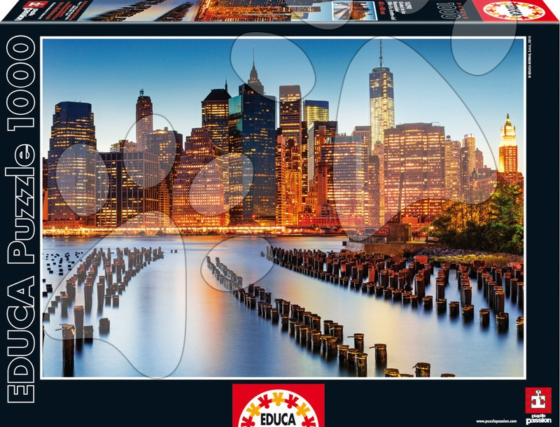 Educa Puzzle Genuine City of Skyscrapers 1000 dielikov 16290 farebné