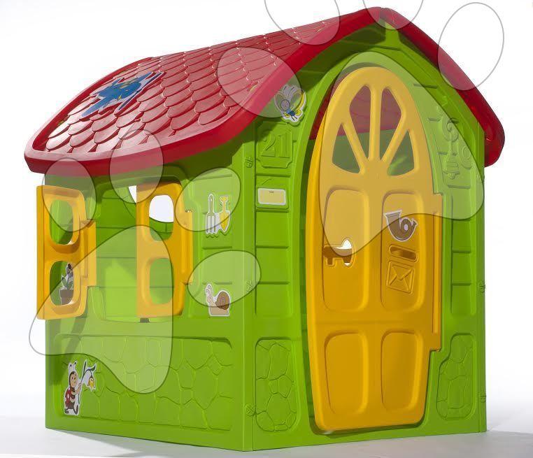 Domčeky pre deti - Záhradný domček Dohány s včielkou na streche od 24 mes