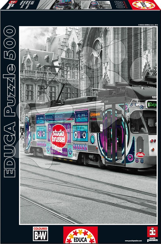 Puzzle Ghent's Tram Belgium Educa 500 dílů od 11 let