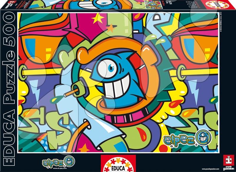 Educa Puzzle Ryba 500 dielov 16274 farebné