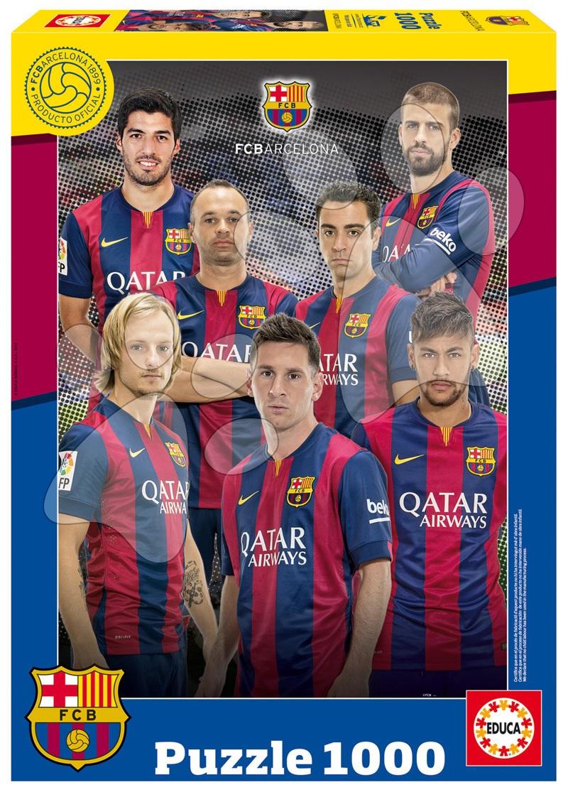 Puzzle FC Barcelona Collage 2014-2015 Educa 1000 dílků od 12 let