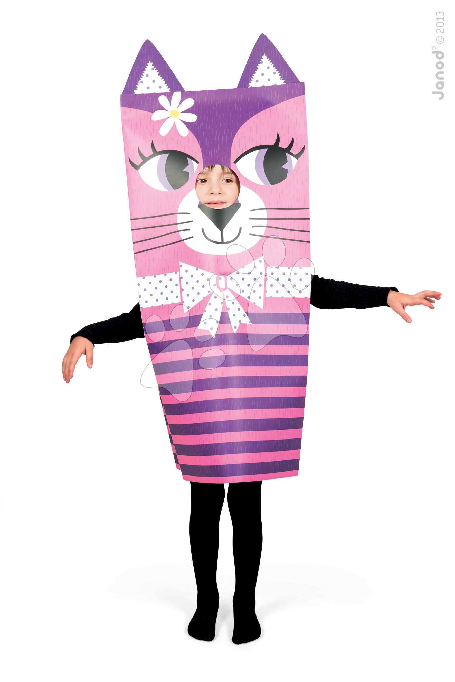 Ručné práce a tvorenie - Karnevalový kostým Mačka Sackanimo Janod