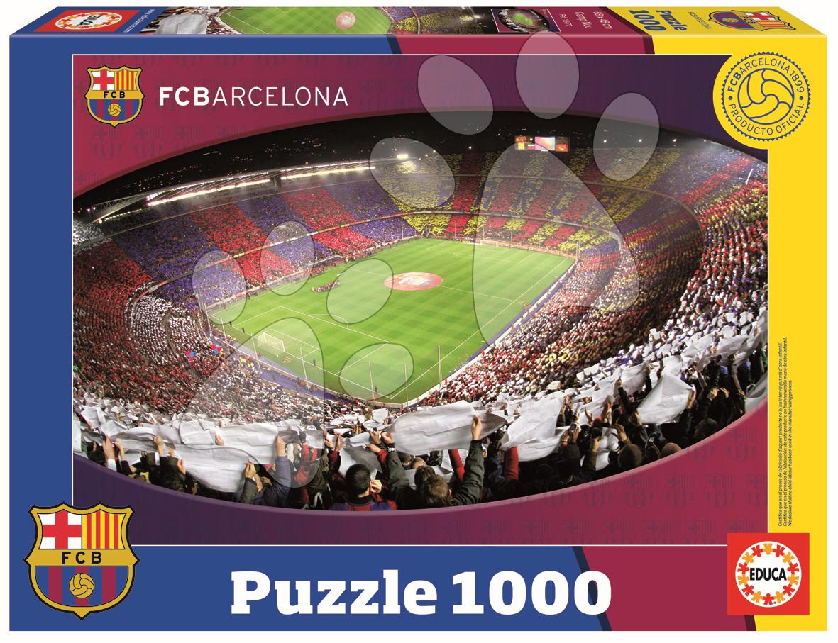 Puzzle FC Barcelona Nou Camp Educa 1000 dielov od 12 rokov