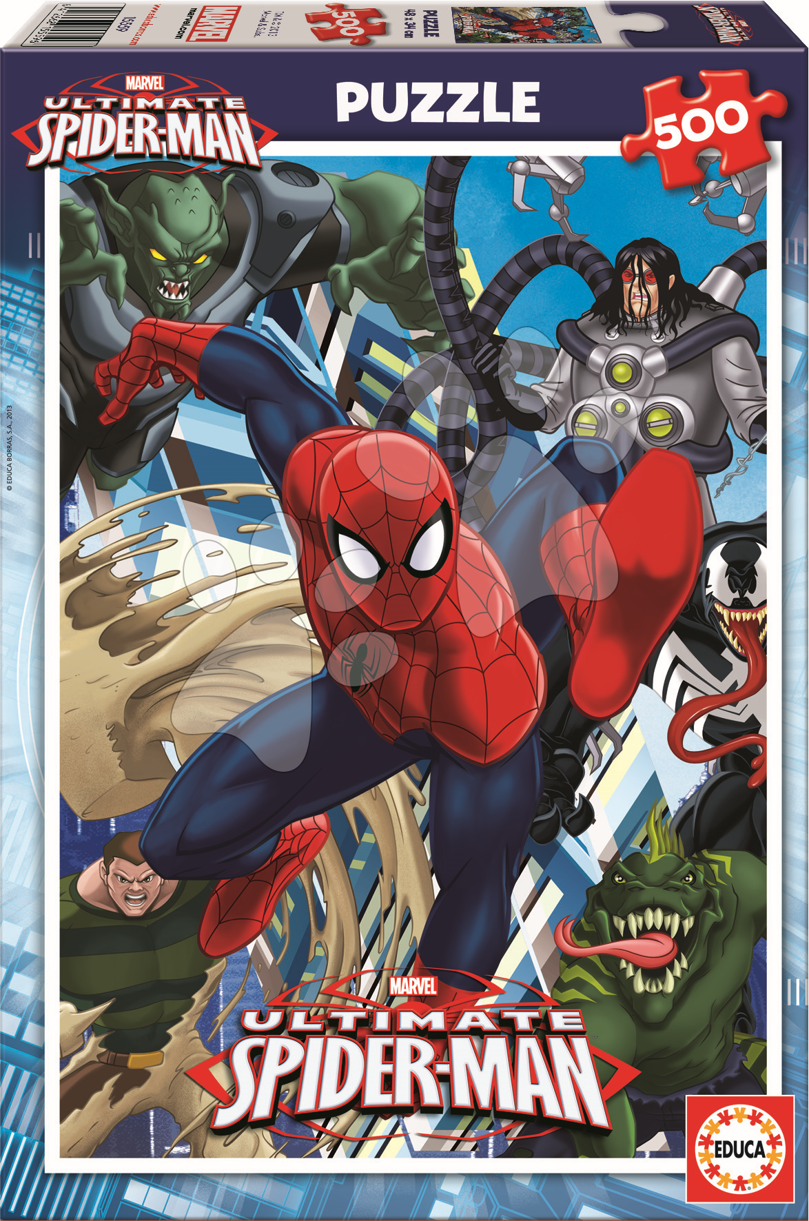 Puzzle Ultimate Spiderman Educa 500 dielov od 11 rokov