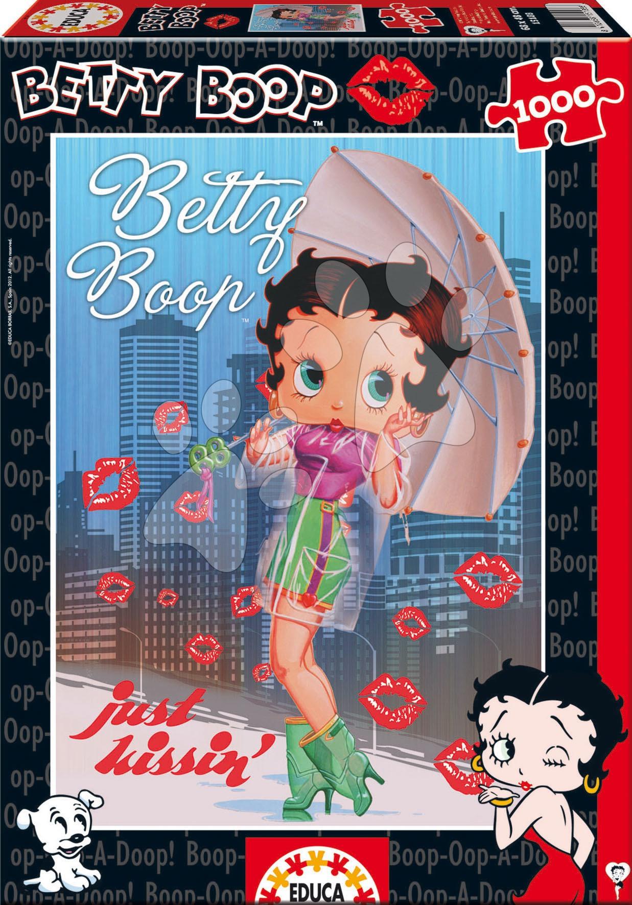 Puzzle Betty Boop Educa 1000 dílů od 12 let