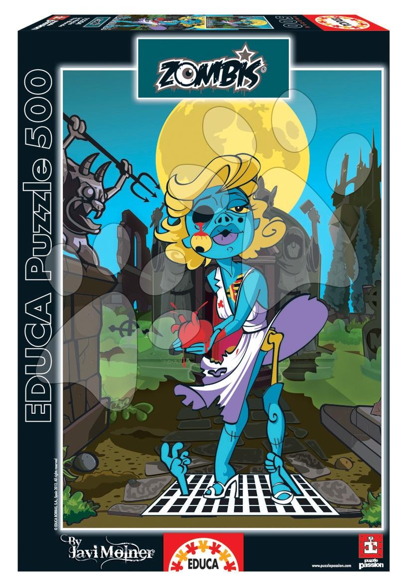 Puzzle La Rubia the Blonde Zombie celebrity Educa 500 dielov od 11 rokov