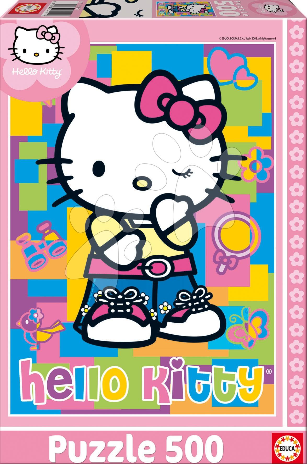 Puzzle 500 dílků - Puzzle Hello Kitty Educa 500 dílů od 11 let
