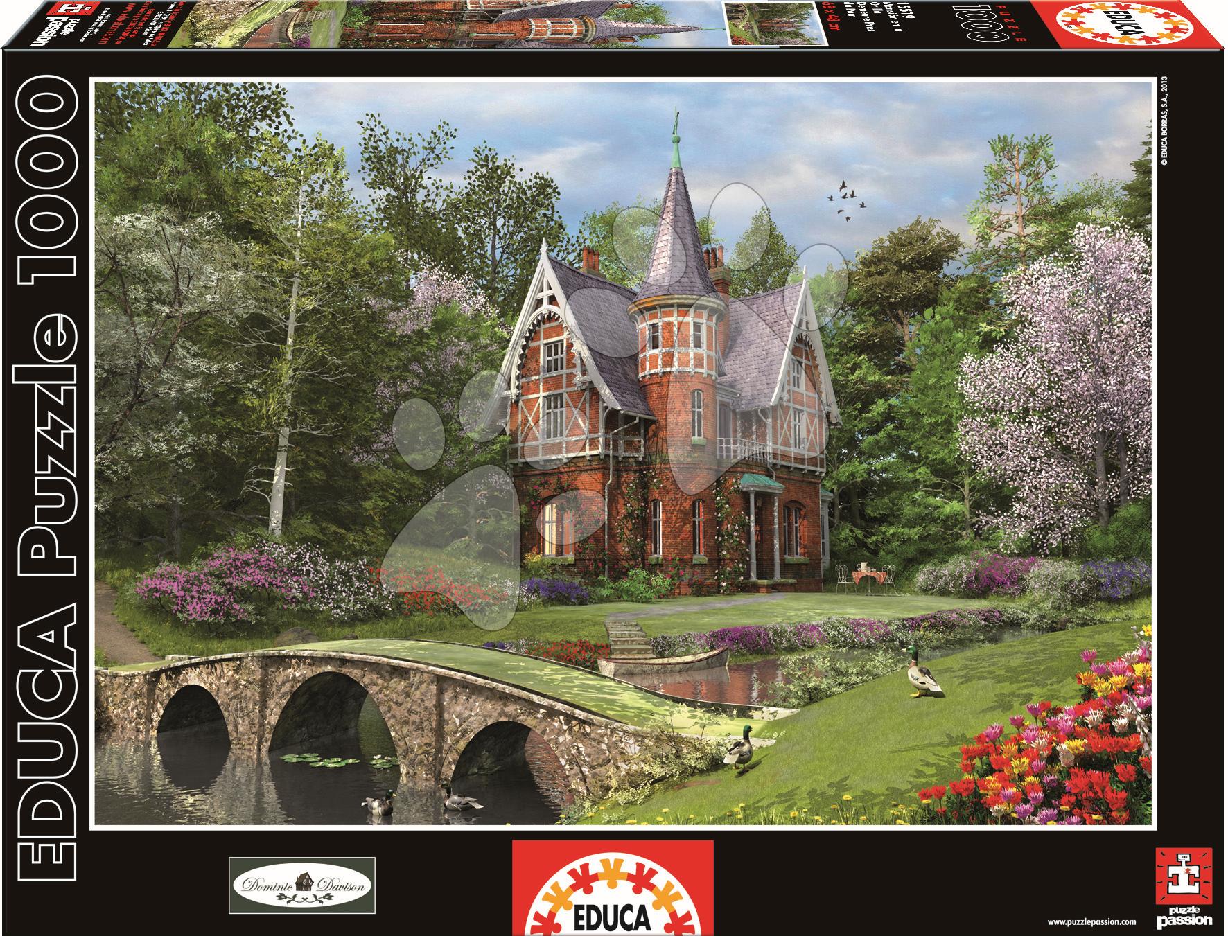 Puzzle Cobbled Bridge Cottage Educa 1000 dílů od 12 let