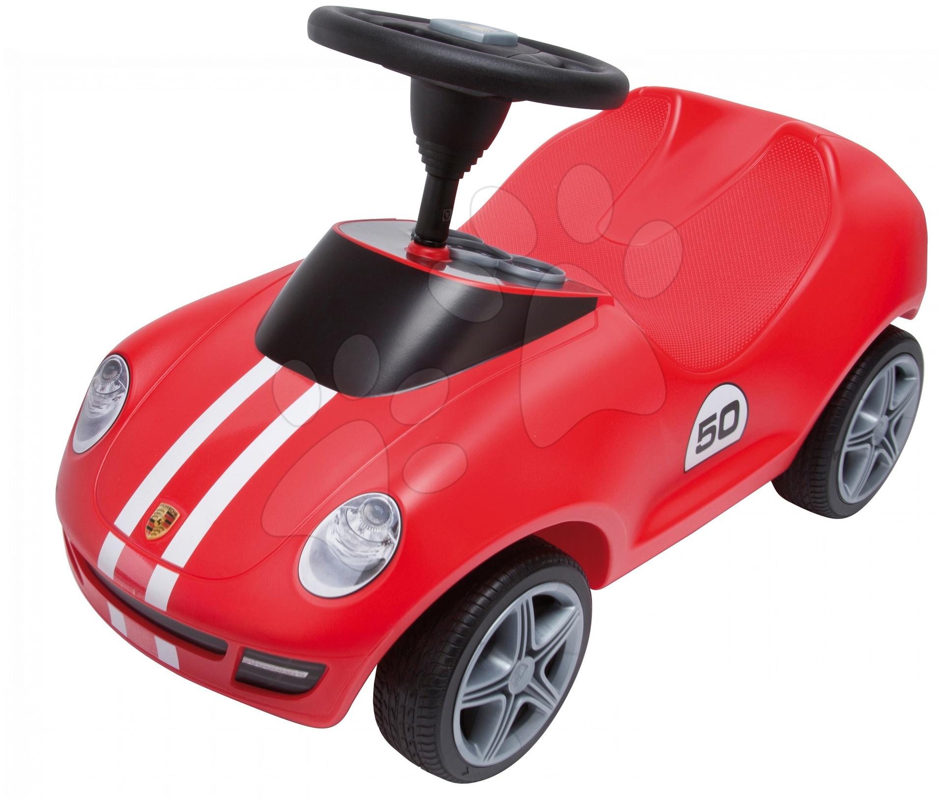 Staré položky - Odrážadlo Baby Porsche BIG s klaksónom červené od 18 mes