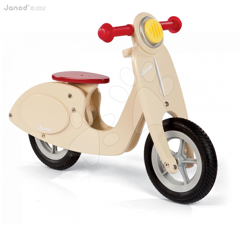 Dřevěné balanční kolo Vanilla Scooter Janod #VALUE!
