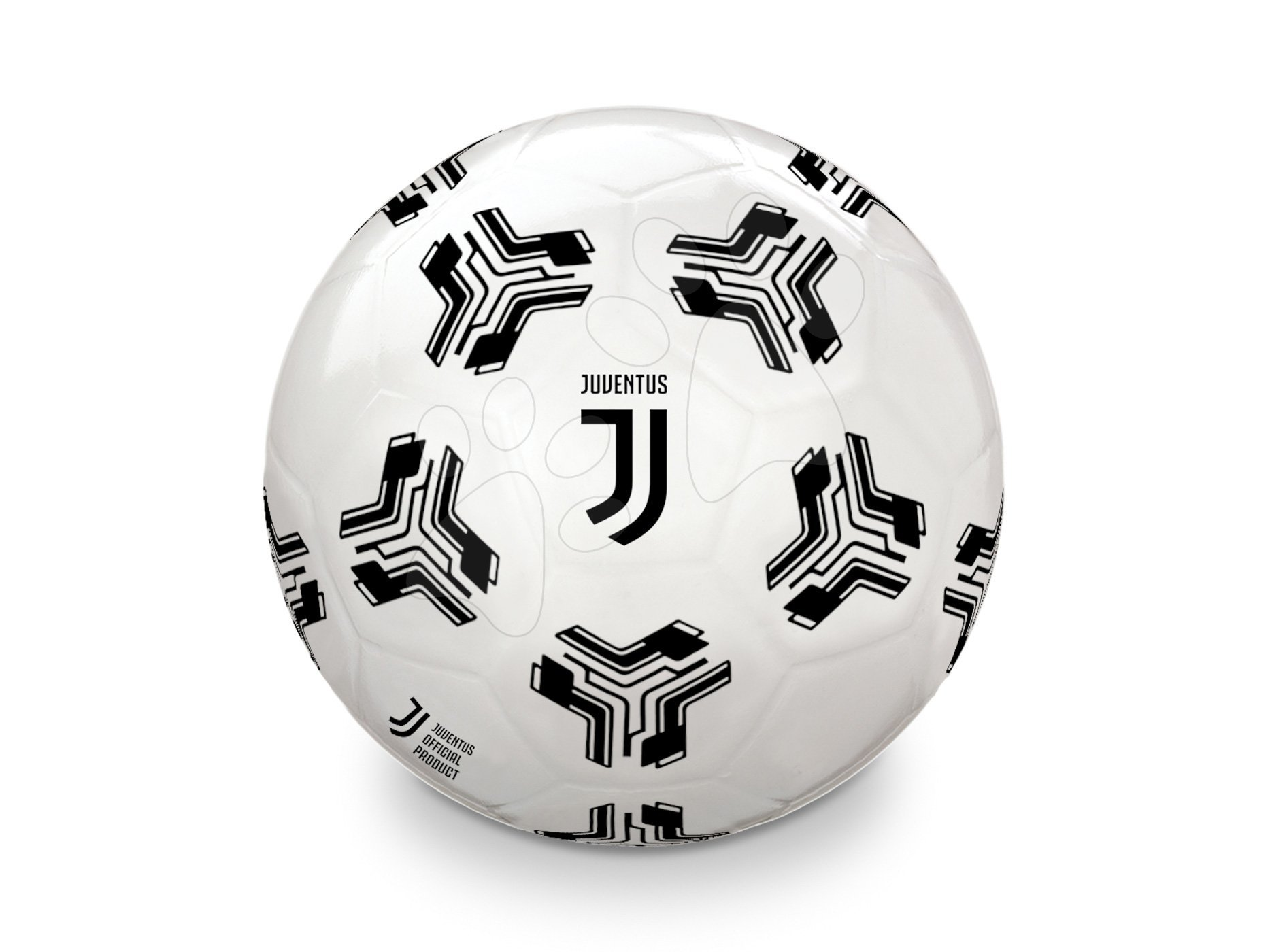 Fotbalový míč gumový F.C. Juventus Mondo velikost 230 mm