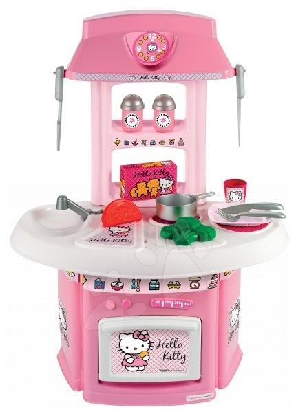 Staré položky - Kuchynka Hello Kitty s riadom Écoiffier 15 doplnkov od 18 mes