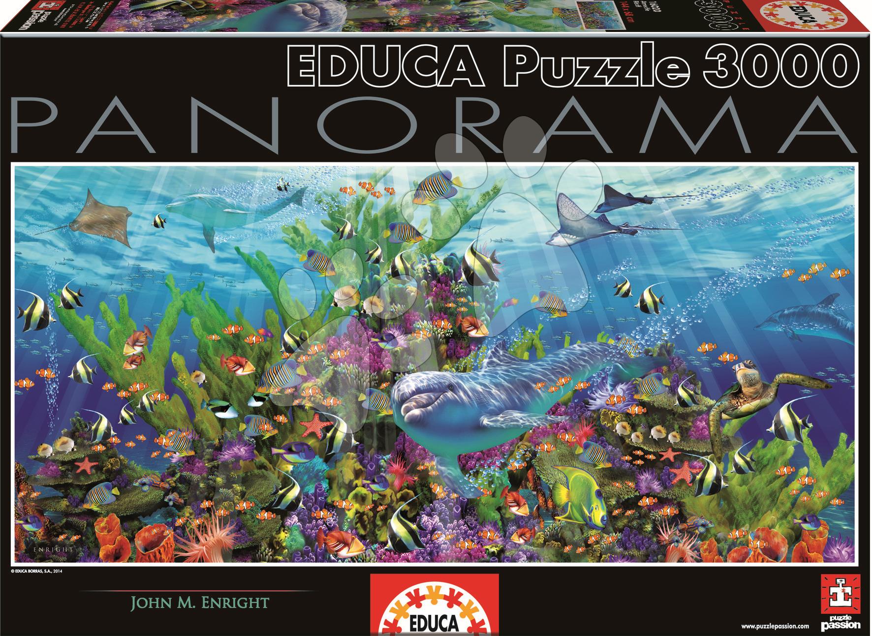 Puzzle Útes Educa 3 000 dílů