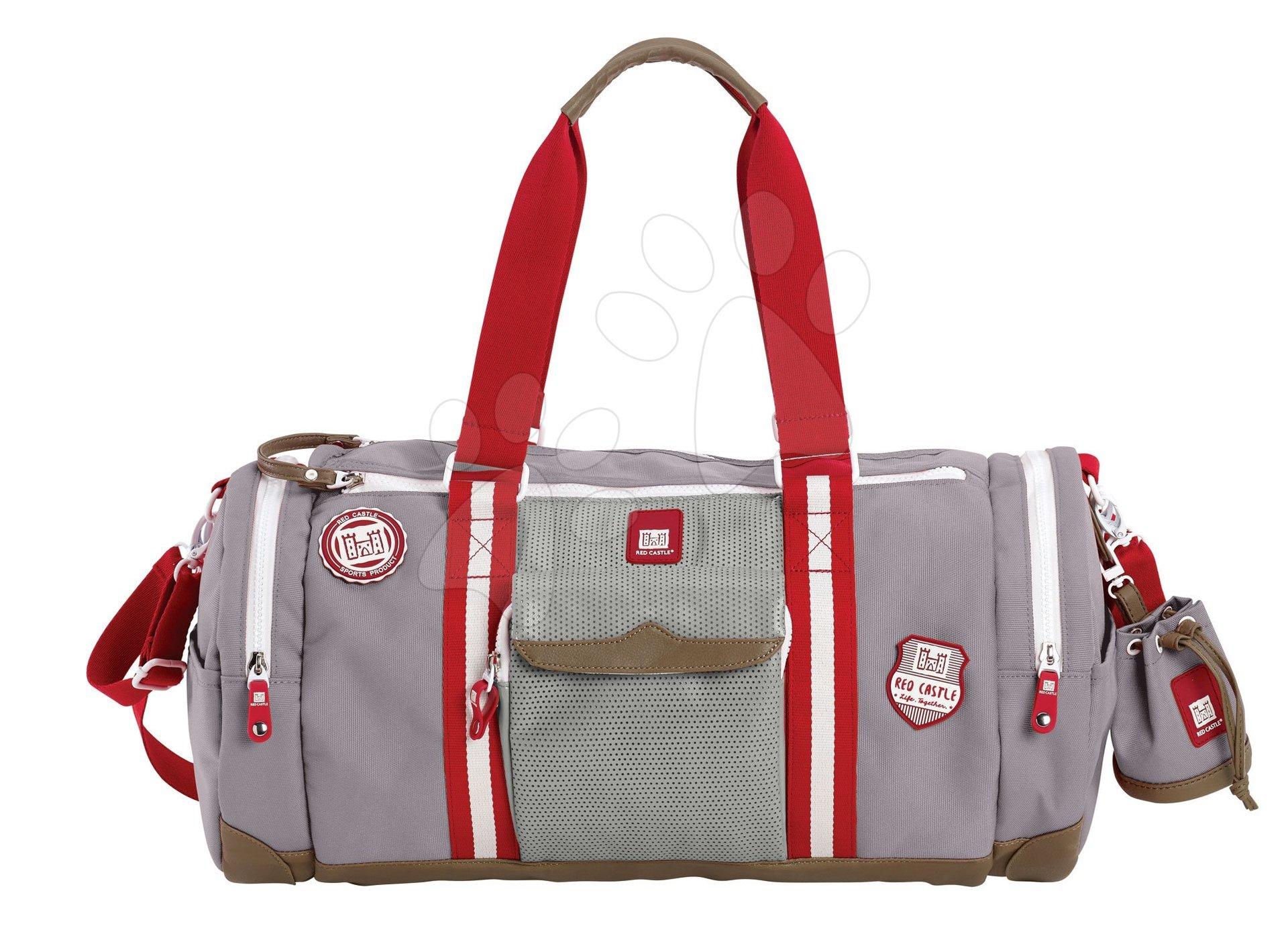 Prebaľovacia cestovná taška ku kočíku Bowling Red castle šedá