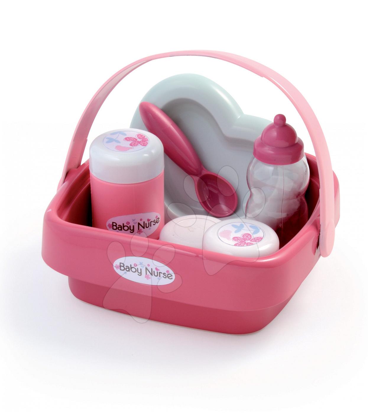 Doplňky pro panenky - Košík s doplňky pro panenku Baby Nurse Smoby #VALUE! od 18 měsíců