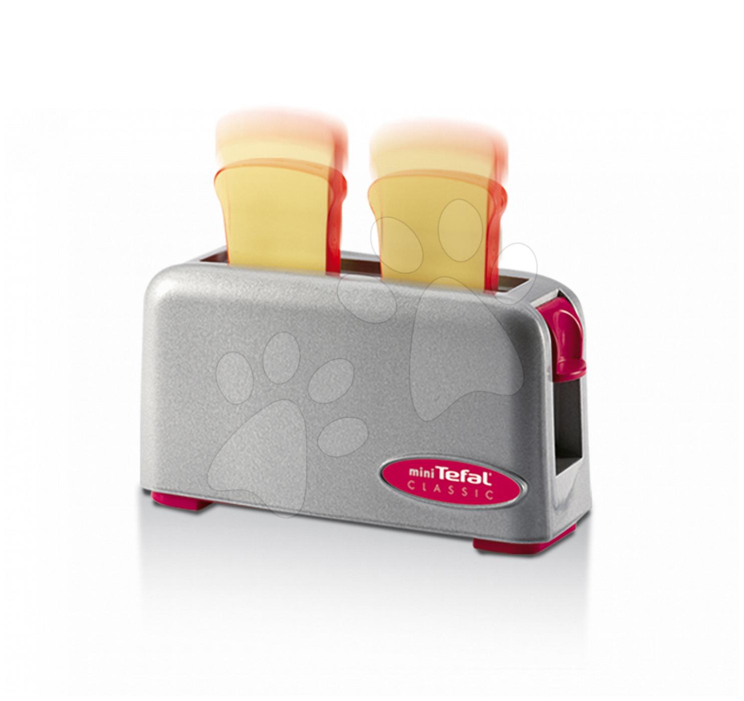 Spotrebiče do kuchynky - Toaster Mini Tefal Express Smoby strieborný