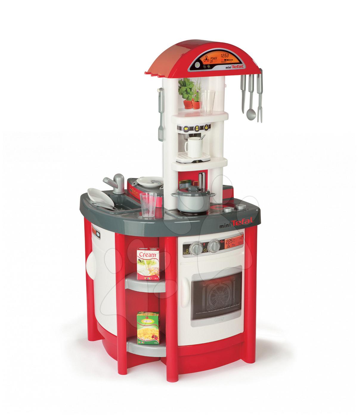 Smoby kuchynka pre deti Studio Tefal 24174 červeno-biela