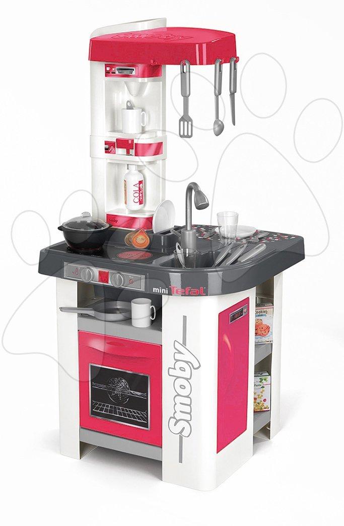 Smoby elektronická kuchynka pre deti Studio Tefal so zvukmi 24311 červená