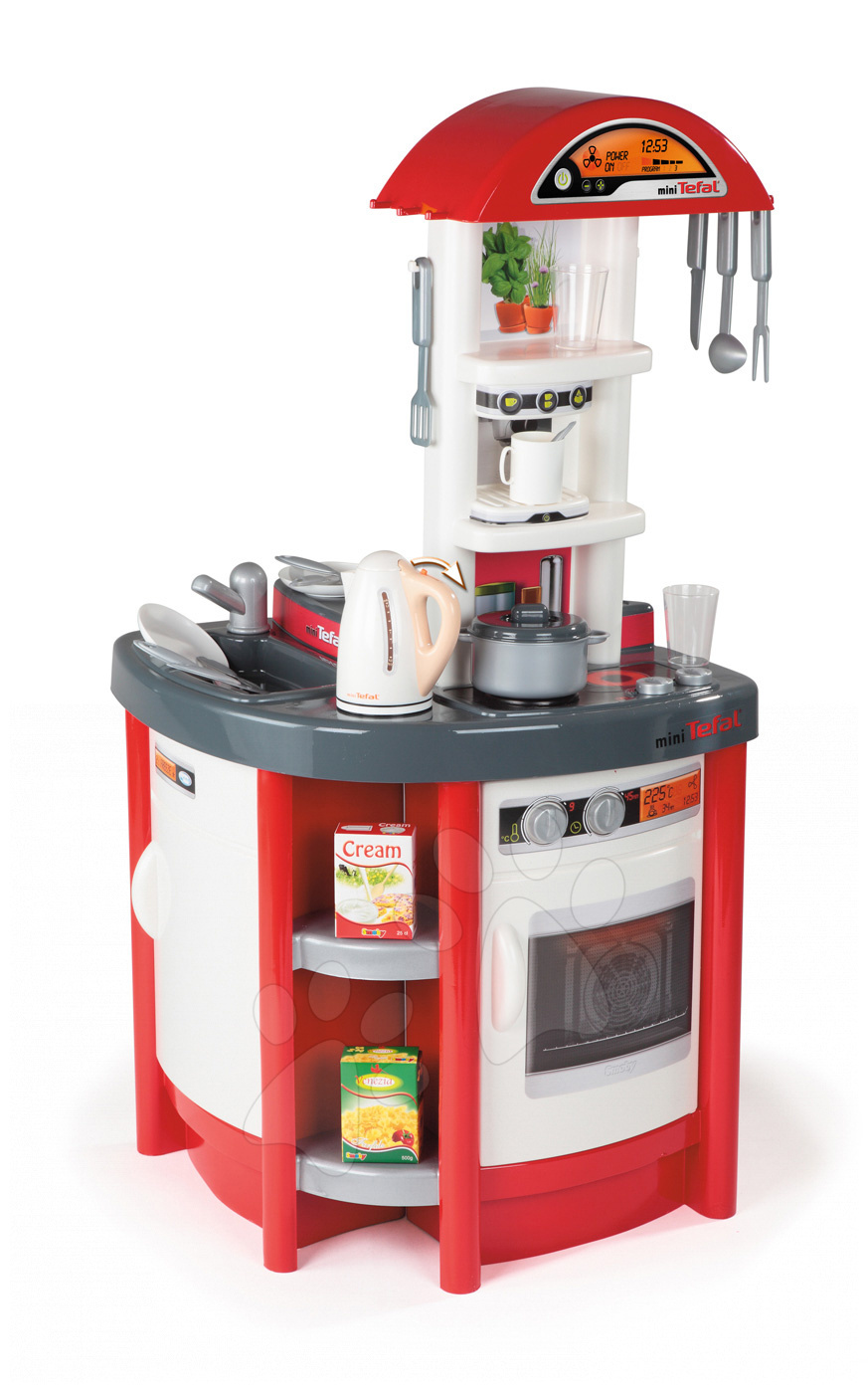 Smoby kuchynka pre deti Tefal Studio 24697 červeno-biela