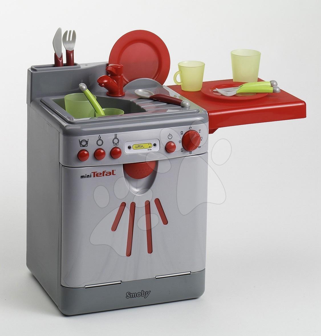Umývačka riadu Mini Tefal Smoby elektronická so 14 doplnkami
