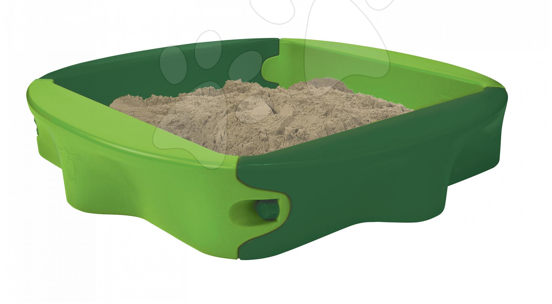 Pieskoviská pre deti - Pieskovisko Sandy BIG zelené od 12 mes