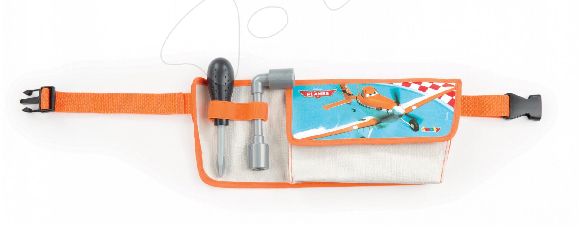 Staré položky - Opasok s náradím Lietadlá Smoby a lietadielkom Dusty