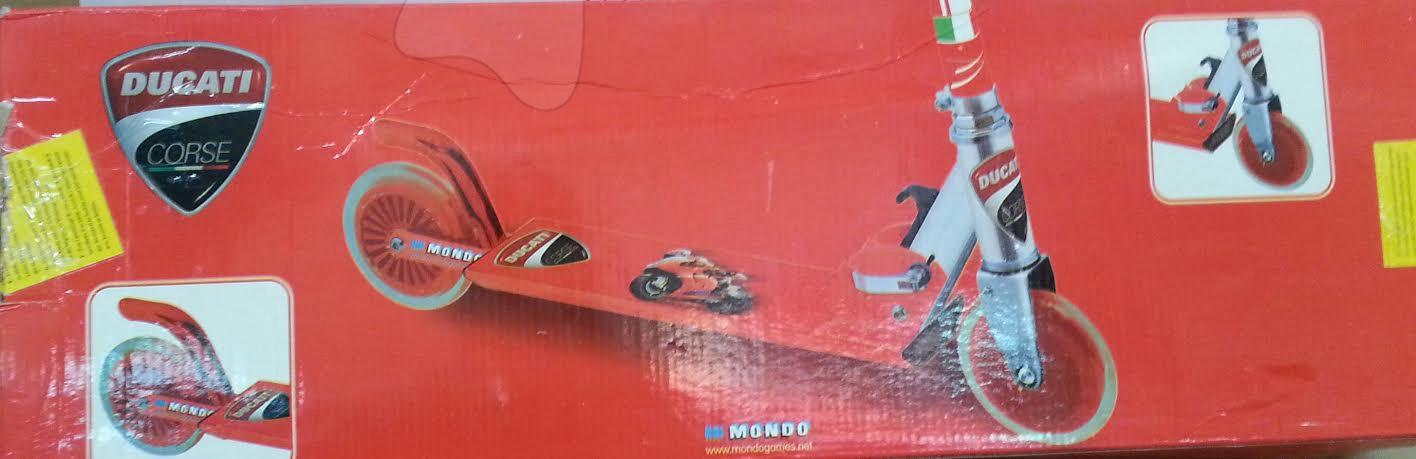 Koloběžka Ducati ABEC 5 Mondo dvoukolová