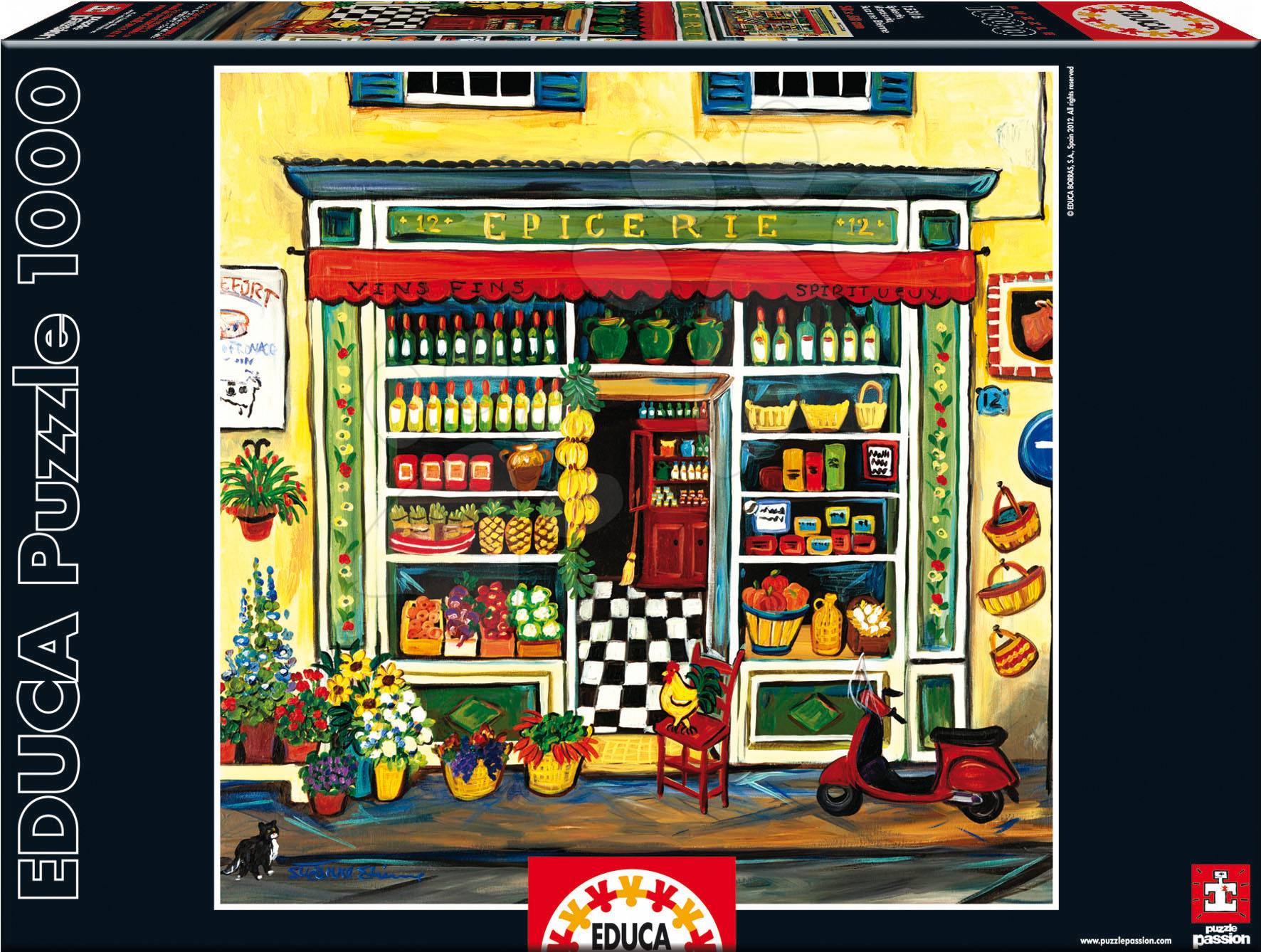 Educa Puzzle Grocery Shop, Suzanne Etienne 1000 dielikov 15316 farebné