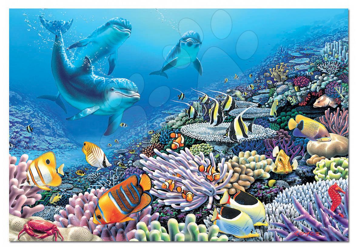 Puzzle 1000 dielne - Puzzle Morský svet Educa 1000 dielov od 12 rokov