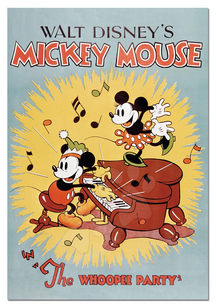 Puzzle 1000 dielne - Puzzle Mickey Mouse Educa 1000 dielov od 12 rokov