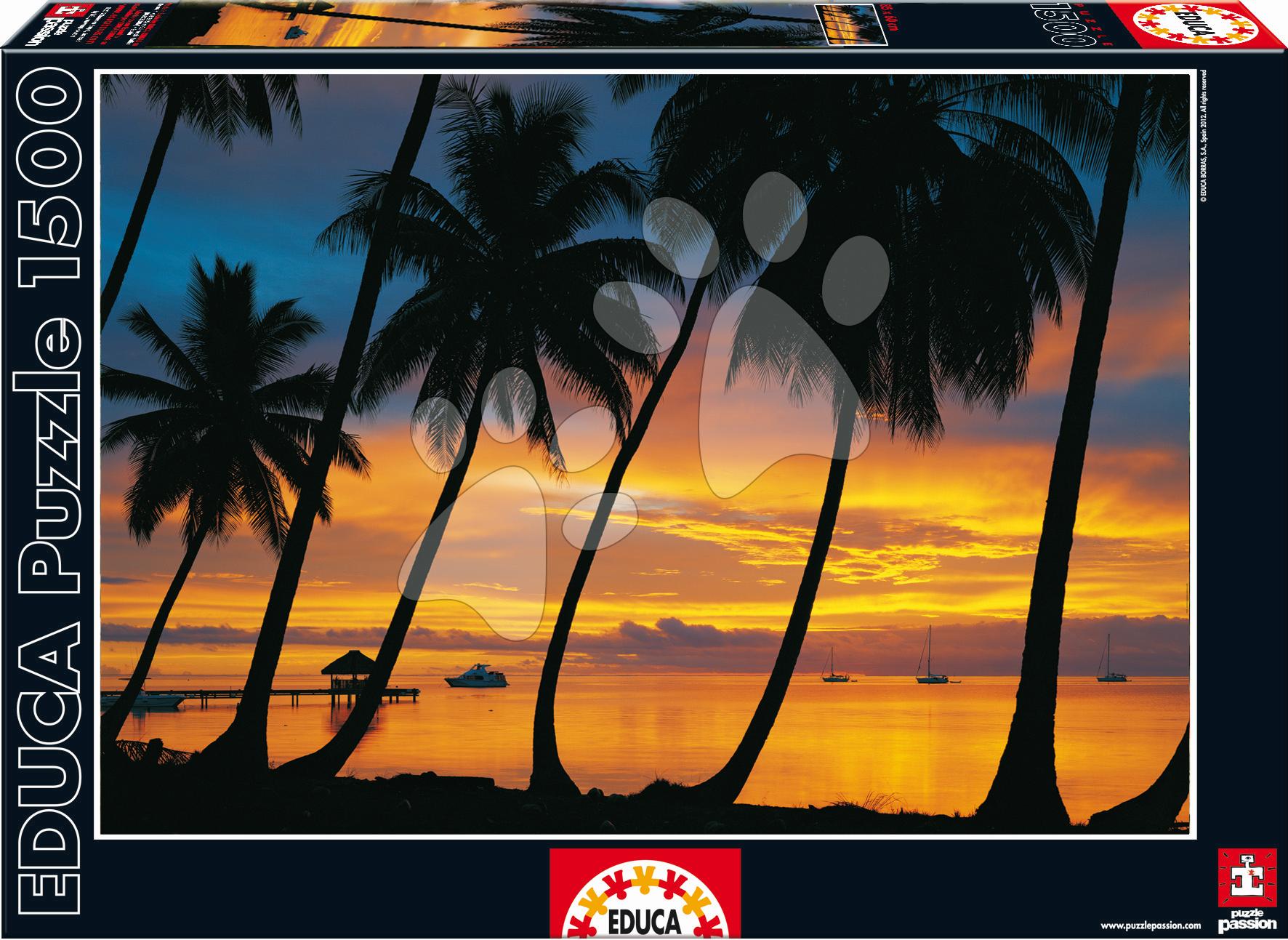 Puzzle Bora Bora Educa 1500 dielov