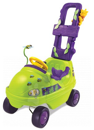 Odrážadlo Baby Mobile Winnie Smoby zeleno-fialové od 10 mes