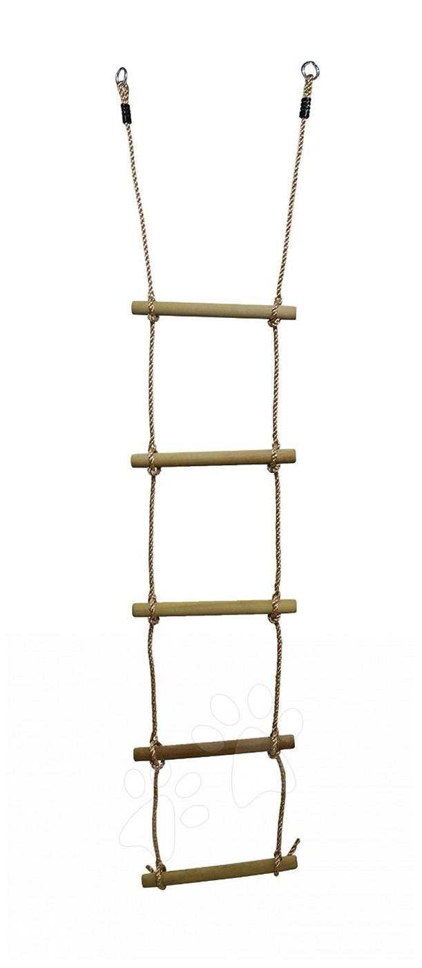 Hojdačky - Drevený povrazový rebrík Smoby dĺžka 230 cm