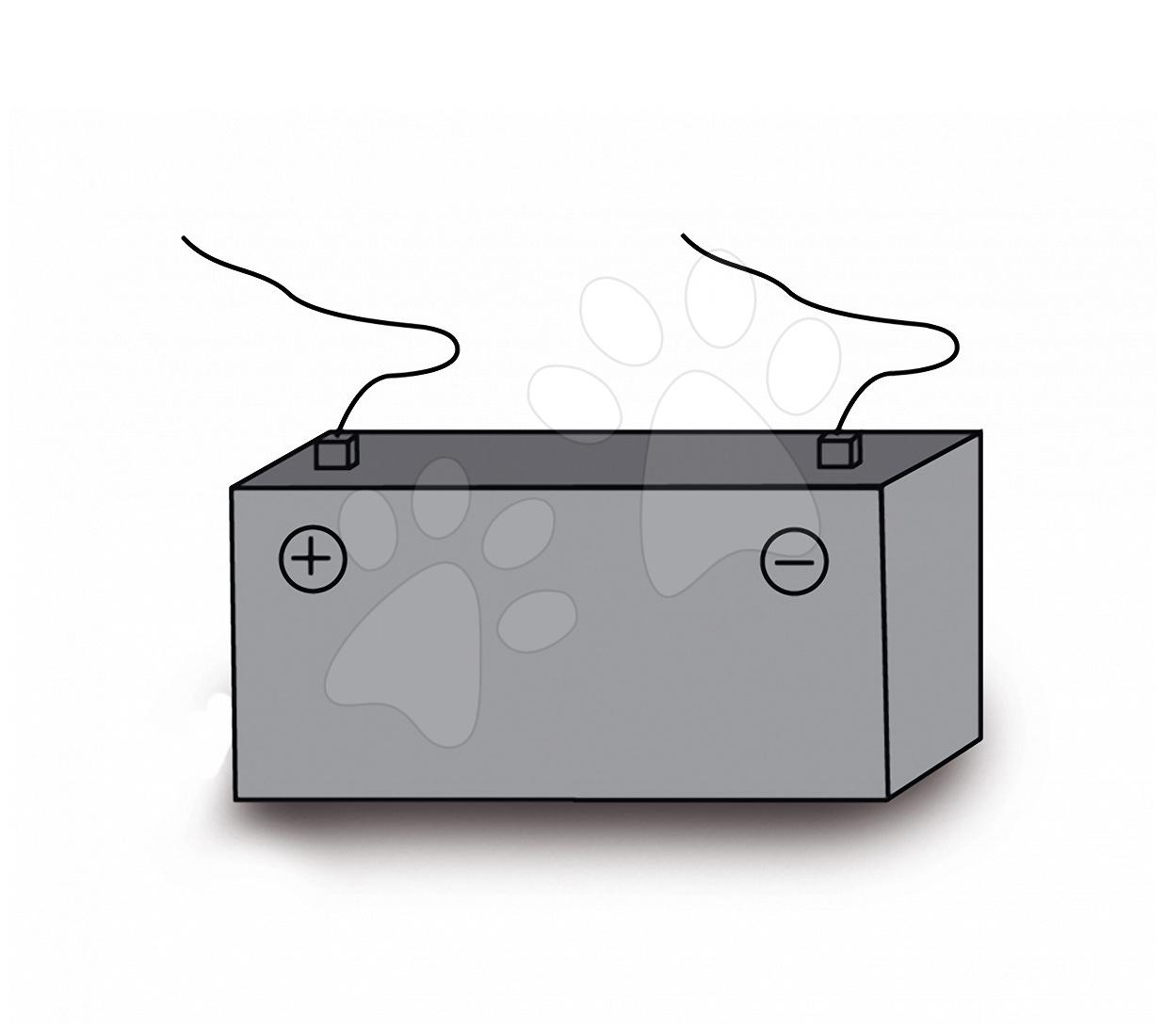 Baterie do elektronické motorky a čtyřkolky Smoby 6voltová náhradní