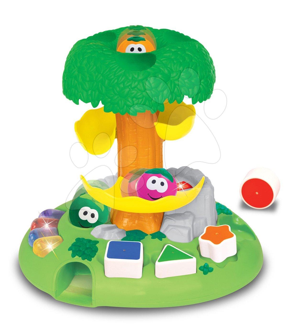 Hračky zvukové - Hudobný stromček Activity Kiddieland so zvukmi a mélódiami od 12 mes