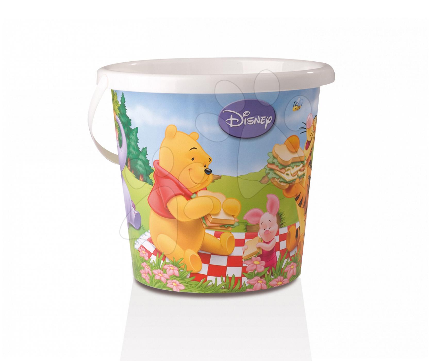 Velký kbelík Medvídek Pú Smoby (výška 22 cm) od 18 měsíců