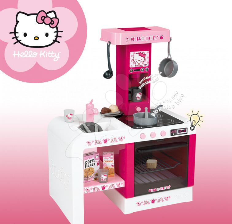 detsk kuchynka hello kitty so zvukom. Black Bedroom Furniture Sets. Home Design Ideas