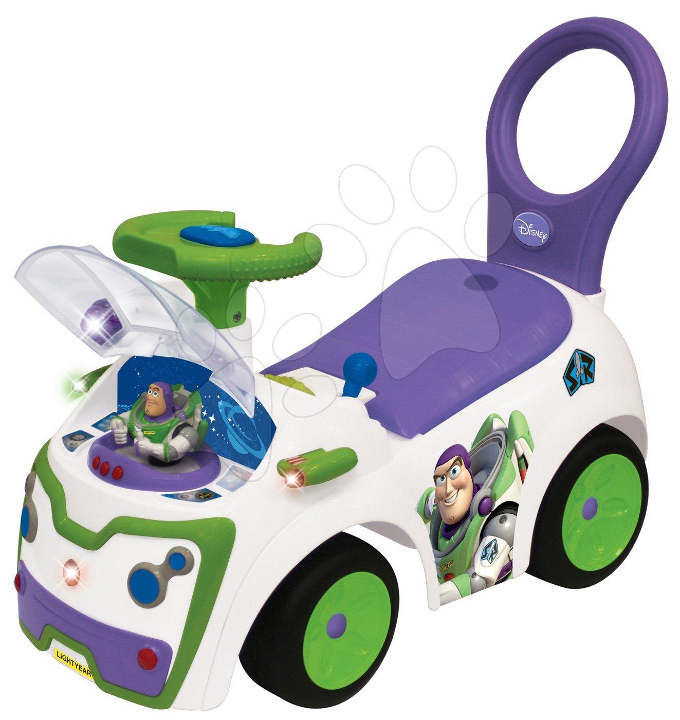 Bébitaxi Toy Story Kiddieland hangeffektekkel, villannyal, különböző funkciókkal