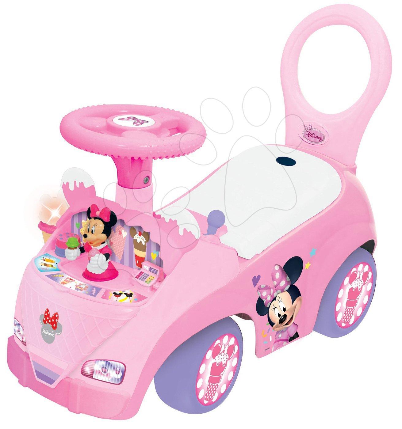 Odrážadlo pre deti so zmrzlinou Activity Minnie 49833 ružové
