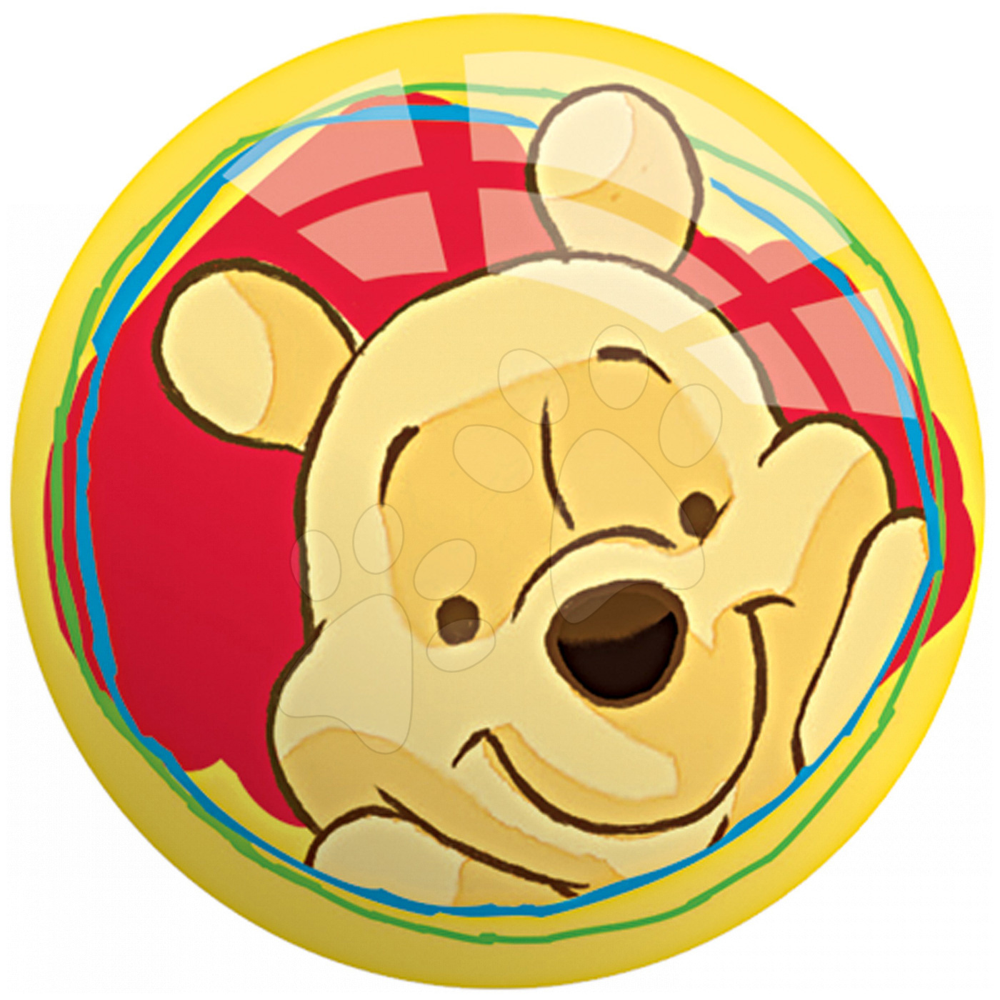 Pohádkové míče - Pohádkový míč Medvídek Pú Mondo 6 cm