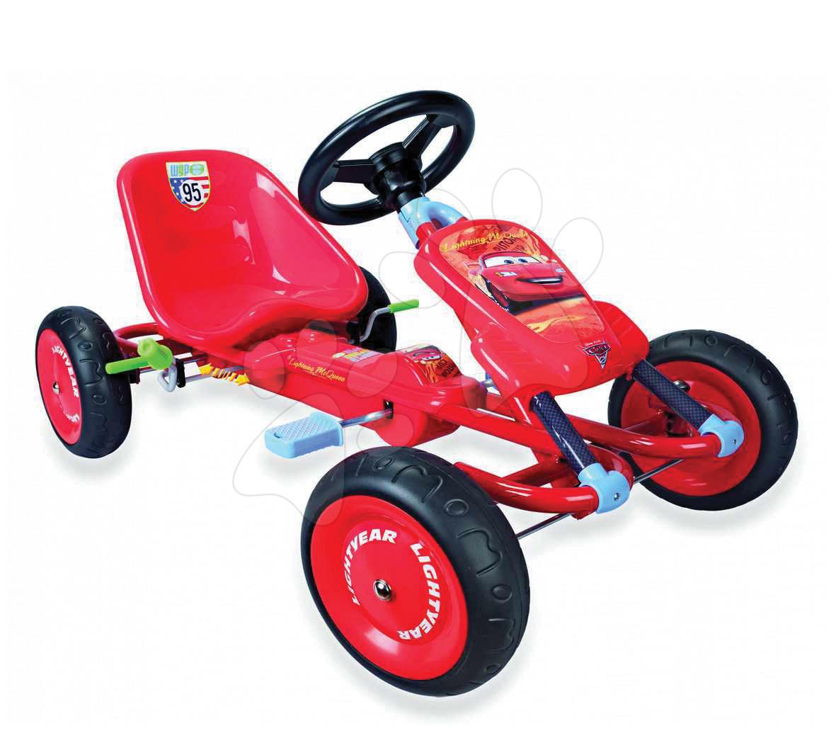 Staré položky - Štvorkolka autíčko Go Kart Cars II Smoby červená