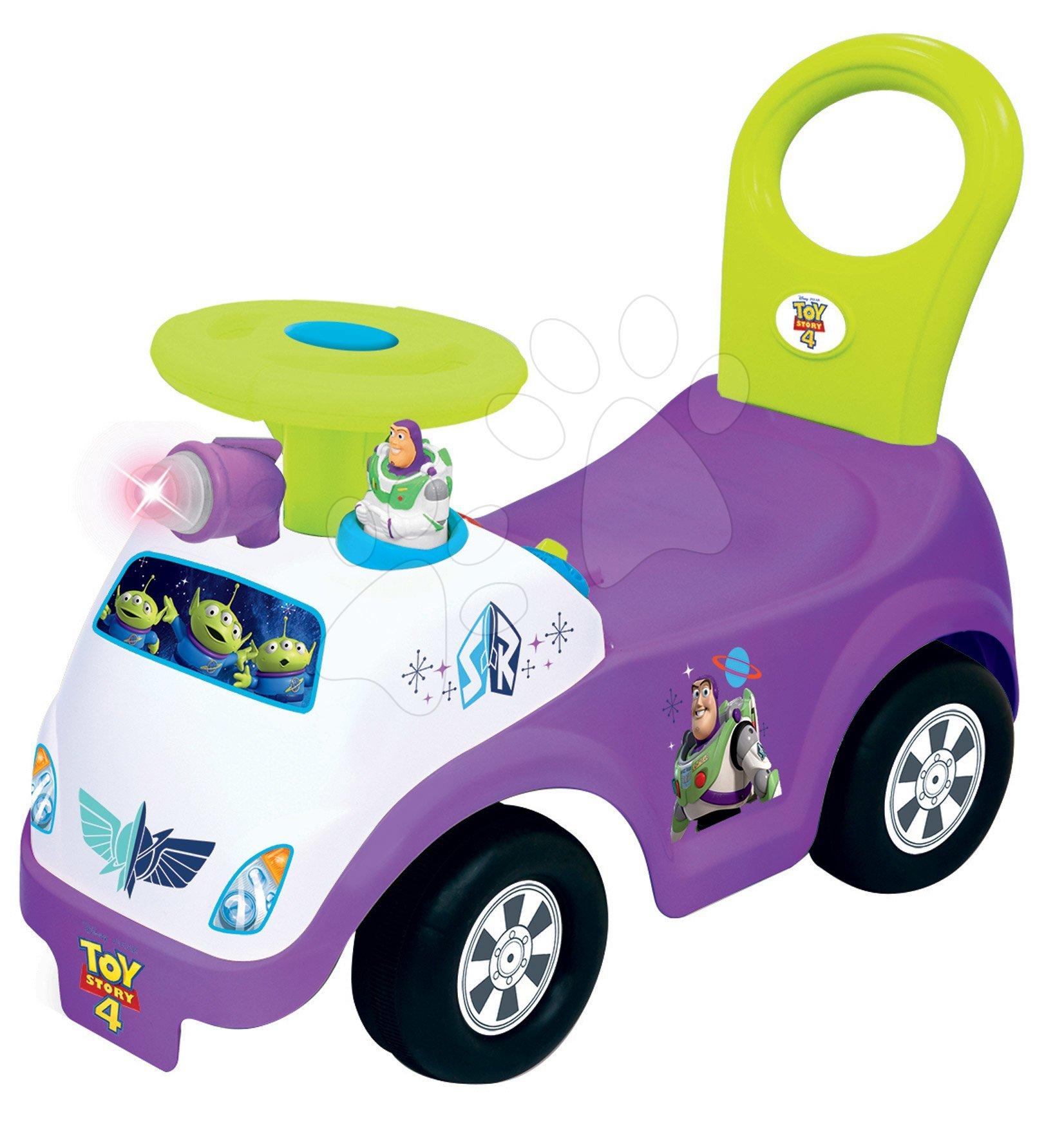Odrážadlá so zvukom - Odrážadlo so zvukom a svetlom Toy Story Activity Buzz Kiddieland od 12 mes