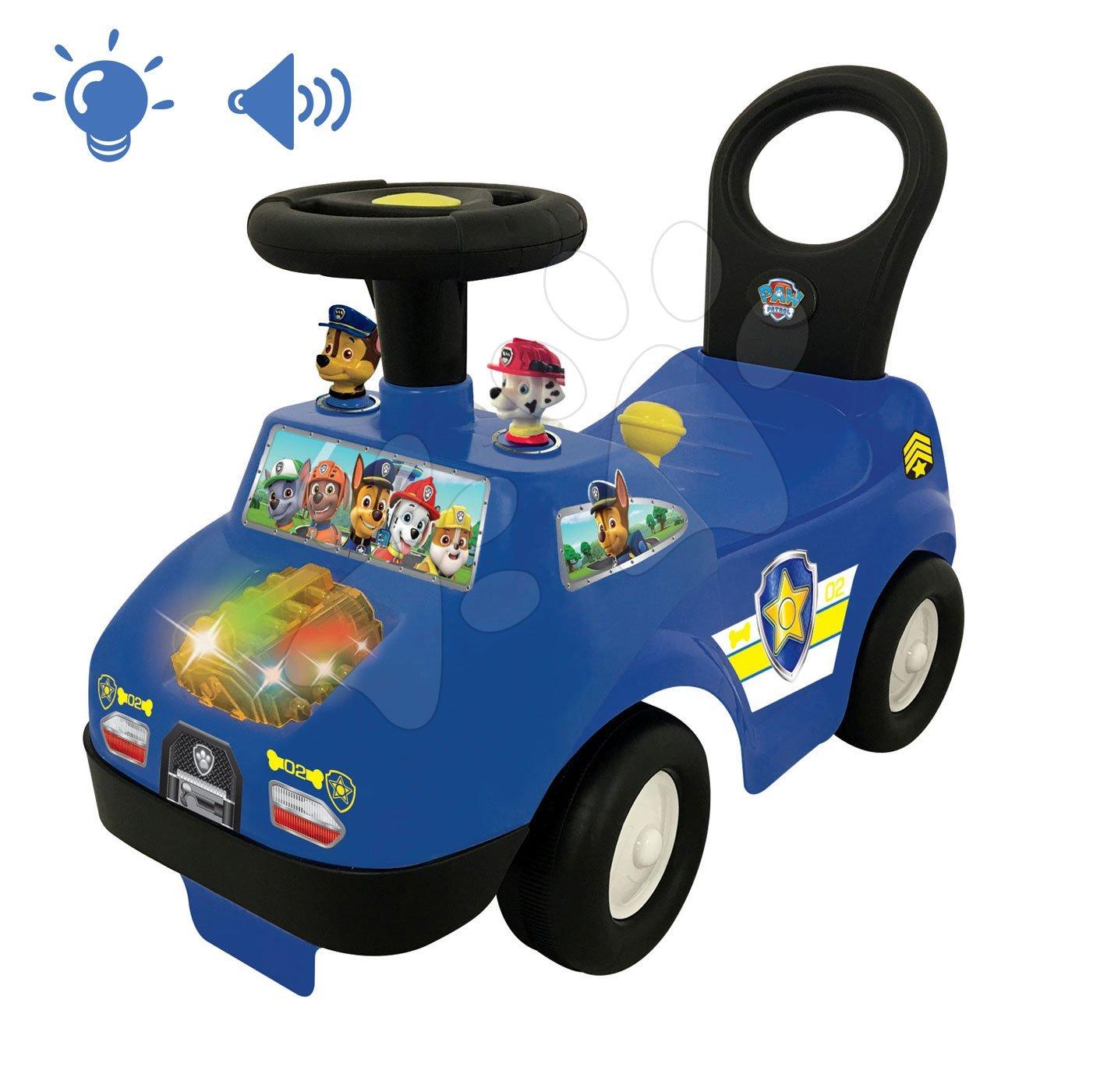 Poganjalec Policija Paw Patrol Kiddieland elektronski z zvokom in lučko od 12 mes